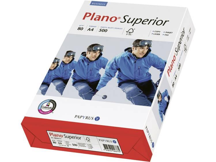 Printpapier Papyrus Plano Superior 88026777 DIN A4 80 g/m² 500 vellen Wit