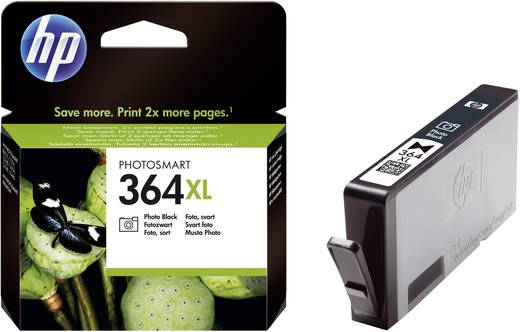 HP Cartridge 364XL Foto zwart
