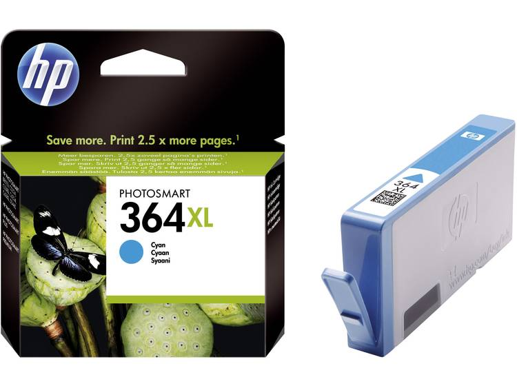 HP Cartridge 364XL Cyaan