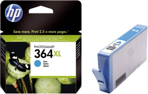 HP Cartridge 364XL Cyaan