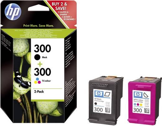 HP Cartridge multipack 300 + 300 Zwart, Cyaan, Magenta, Geel