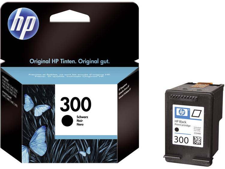 HP Cartridge 300 Zwart