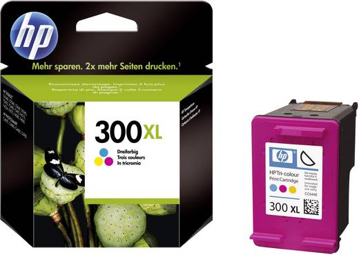 HP Cartridge 300XL Cyaan, Magenta, Geel