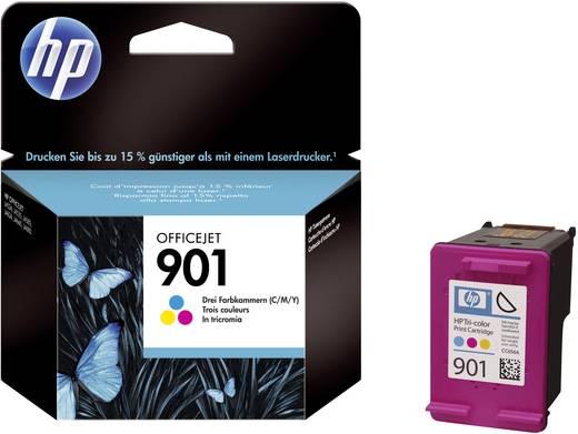 HP Inkt 901 Origineel Cyaan, Magenta, Geel CC656AE
