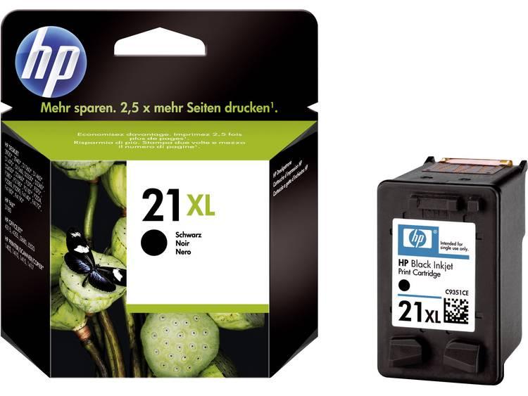HP Cartridge 21XL Zwart