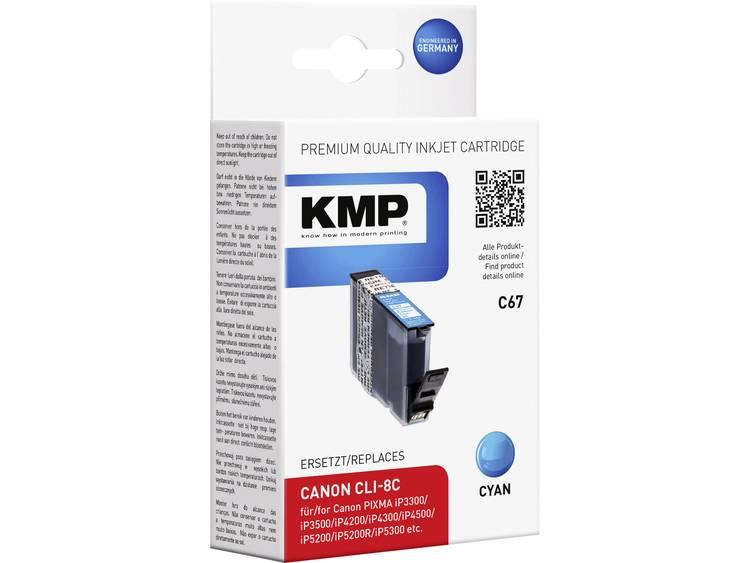 KMP Inkt vervangt Canon CLI-8 Compatibel Cyaan C67 1505,0003