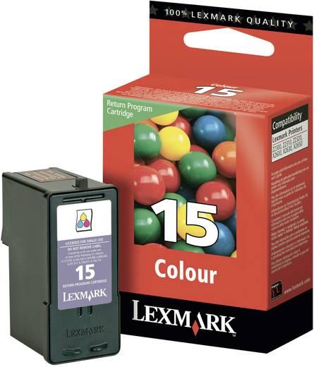 Cartridge Origineel Lexmark 15 Cyaan, Magenta, Geel
