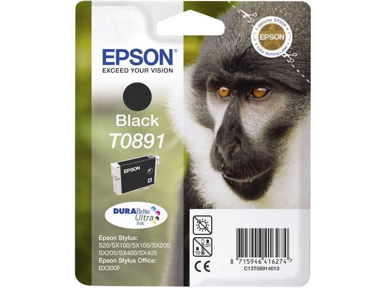 Epson Inkt T0891 Origineel Zwart C13T08914011