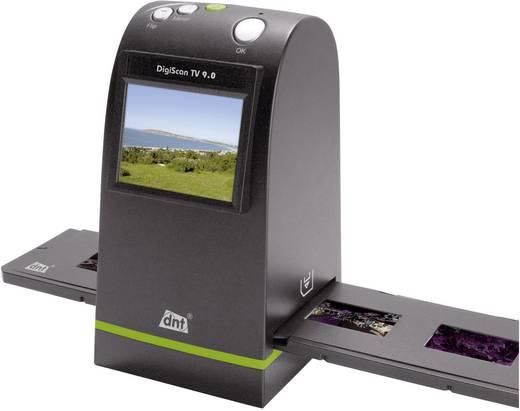 dnt DigiScan TV 9.0 Diascanner, Negatiefscanner 2400 dpi Display, Geheugenkaartlezer, Digitalisering zonder PC, TV-uitg