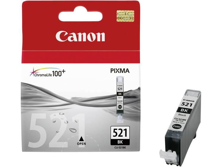 Canon Cartridge CLI 521BK Origineel Foto zwart 2933B001 Cartridge