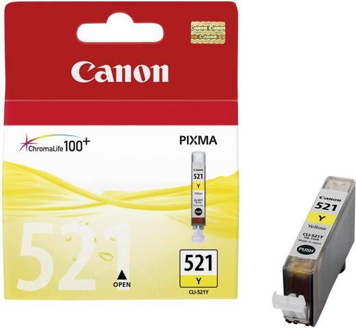 Canon Inkt CLI-521Y Origineel Geel 2936B001