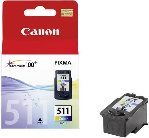 Canon Inkt CL-511 Origineel Cyaan, Magenta, Geel 2972B001