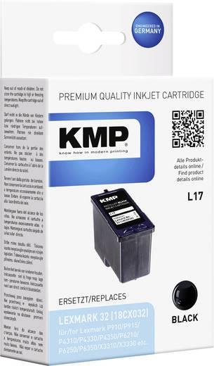 KMP Inkt vervangt Lexmark 32 Compatibel Zwart L17 1018,4321