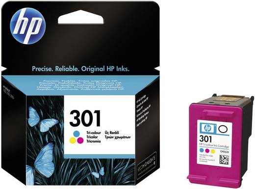 HP Cartridge 301 Cyaan, Magenta, Geel