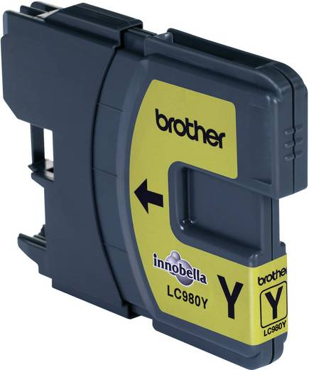 Brother Inkt LC-980Y Origineel Geel LC980Y