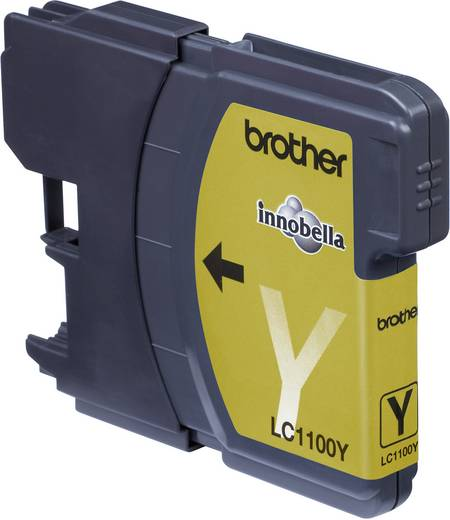 Brother Inkt LC-1100Y Origineel Geel LC1100Y