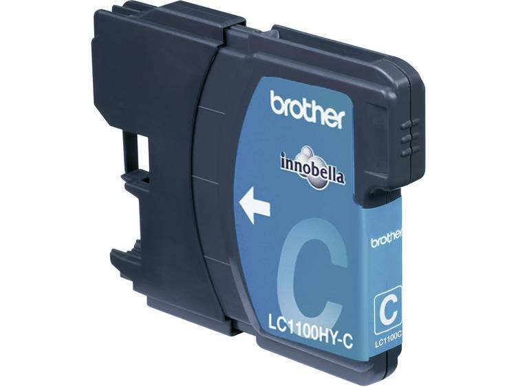 Brother Inkt LC-1100HYC Origineel Cyaan LC1100HYC