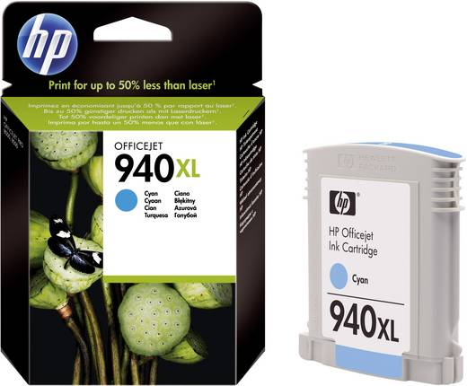 HP Cartridge 940XL Cyaan