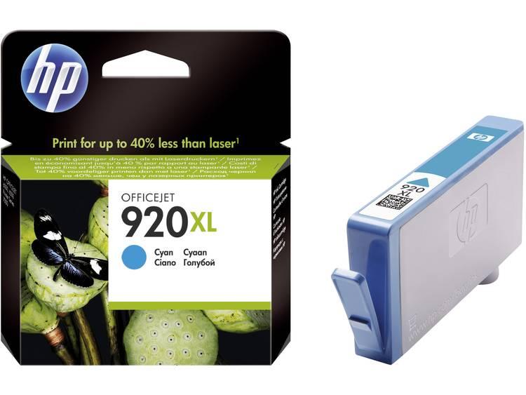 HP Cartridge 920XL Cyaan