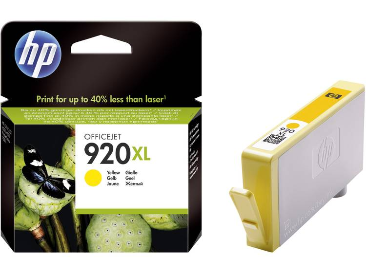 HP Cartridge 920XL Geel