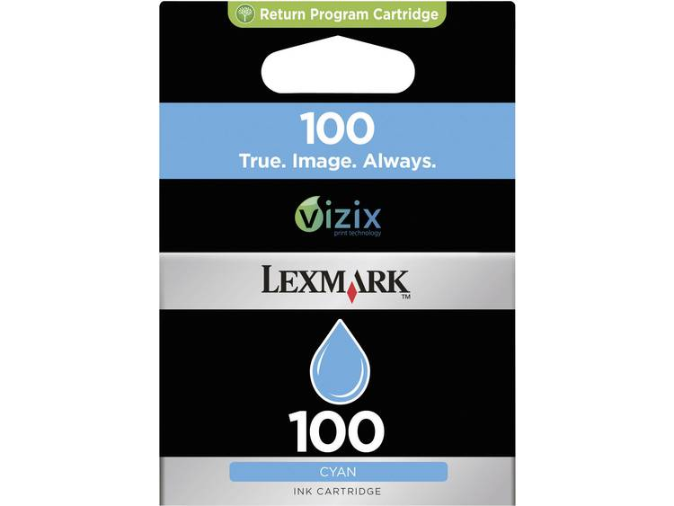 Cartridge Origineel Lexmark 100 Cyaan