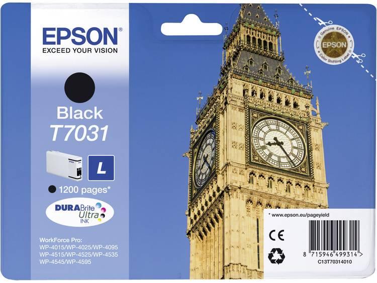 Epson Inkt T7031 Origineel Zwart C13T70314010