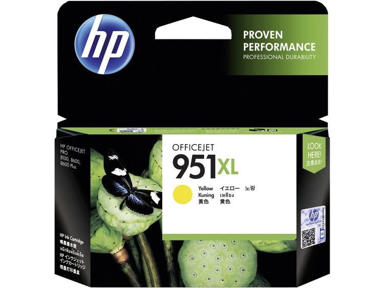 HP Inkt 951XL Origineel Geel CN048AE