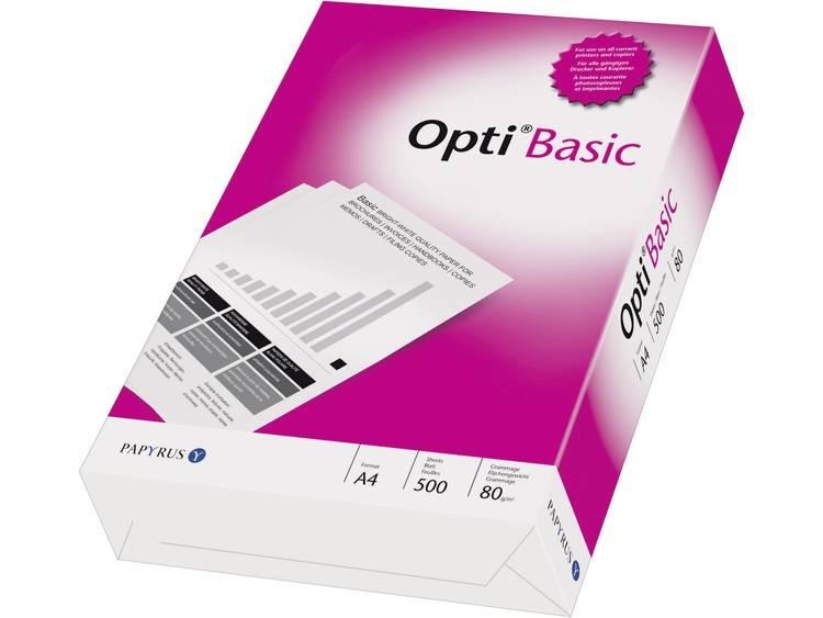Printpapier Papyrus OPTI® Basic 88081823 DIN A4 80 g/m² 500 vellen Wit