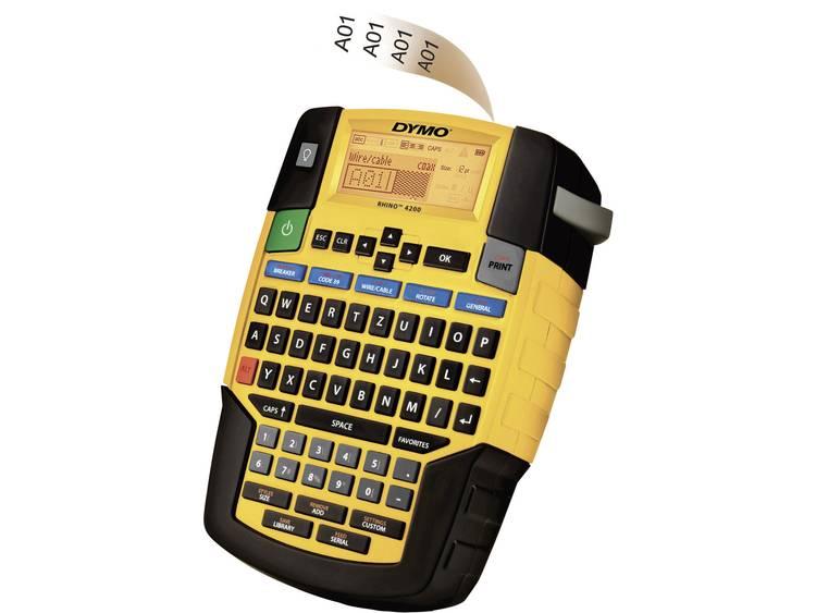 DYMO RHINO 4200 Labelmaker Geschikt voor labels: IND Strookbreedte: 6 mm, 9 mm, 12 mm, 19 mm