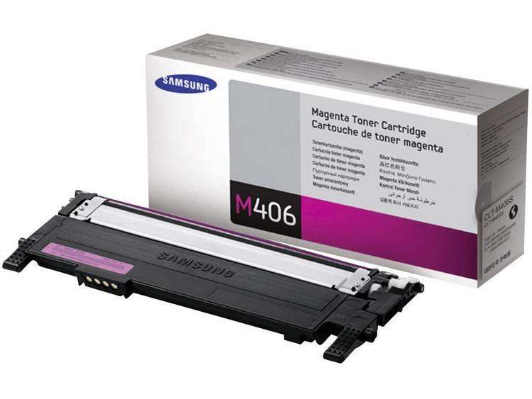 Samsung Tonercassette CLT M406S SU252A Origineel Magenta 1000 bladzijden