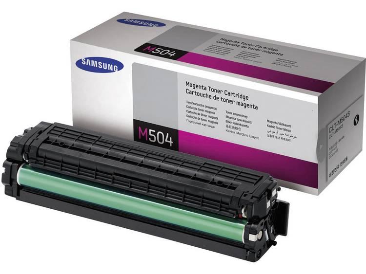 Samsung Tonercassette CLT M504S SU292A Origineel Magenta 1800 bladzijden