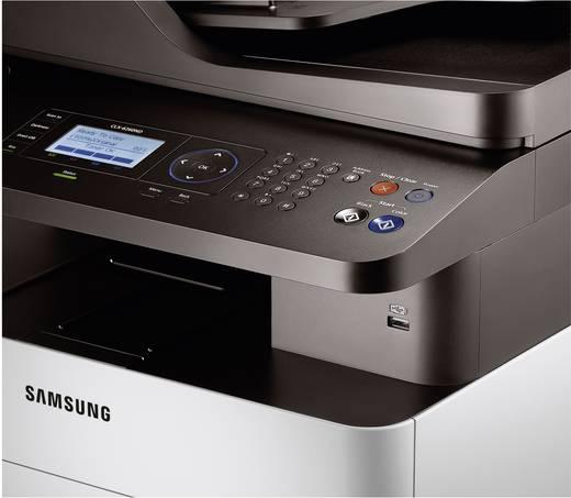 Multifunctionele kleurenlaserprinter Samsung CLX-6260ND A4 Printen, Scannen, Kopiëren LAN, Duplex, ADF