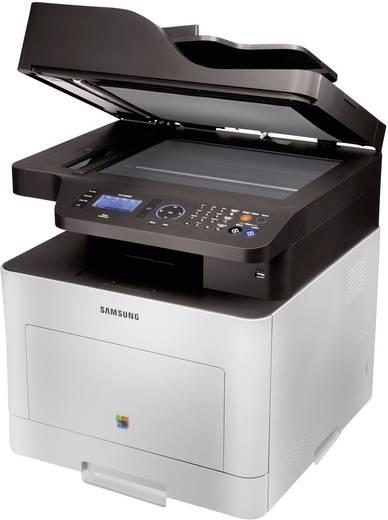 Multifunctionele kleurenlaserprinter Samsung CLX-6260FR A4 Printen, Scannen, Kopiëren, Faxen ADF, Duplex, LAN