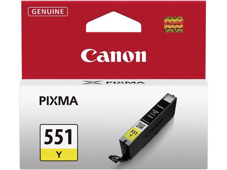 Canon Cartridge CLI 551Y Origineel Geel 6511B001 Cartridge
