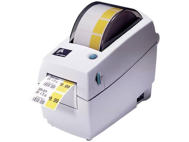 Zebra TLP 2824 Plus Labelprinter Warmtetransmissie 203 x 203 dpi Etikettenbreedte (max.): 60 mm USB, LAN