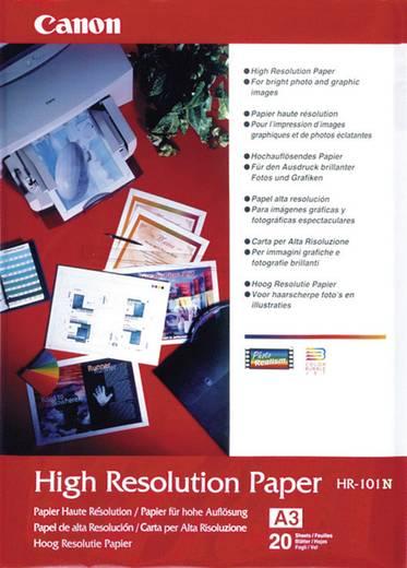 Canon High Resolution Paper HR-101, 1033A006, DIN A3, 106 g/m², Hoge resolutie, mat, 20 vellen