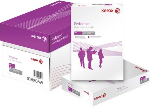 Xerox Performer Printpapier DIN A4 80 g/m² 500 vellen Wit