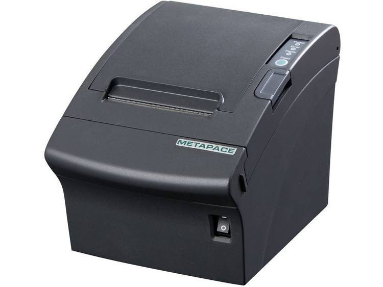 Metapace T-3 Kassabonprinter Thermisch 180 x 180 dpi Zwart Kassarolbreedte: 80 mm