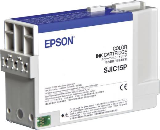 Epson Inkt SJIC15P Origineel Cyaan, Magenta, Geel C33S020464