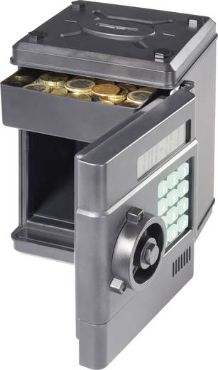 Spaarpot kluis met digitale muntenteller