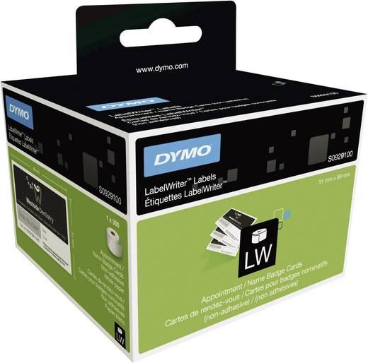 DYMO Etiketten (rol) 89 x 51 mm Papier Wit<b