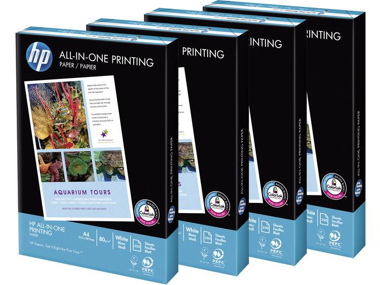 HP All-In-One Printing Printpapier DIN A4 80 g-m² 1000 vellen Wit