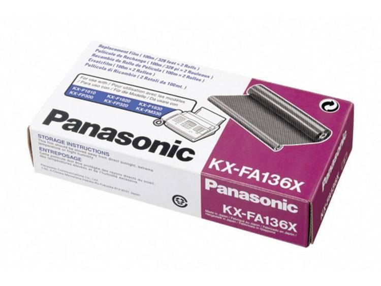 Panasonic Inktlint / Transferlint ( fax ) 2-pak, KX-FA136X / KX-FA136X, , Origineel