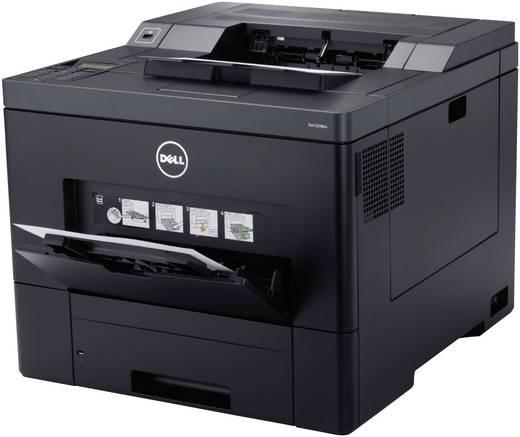 Dell C3760dn, kleurenlaserprinter, A4, USB, LAN, dubbelzijdig afdrukken, 600 x 600 dpi, max. 35 pag/min (zwart-wit en kl