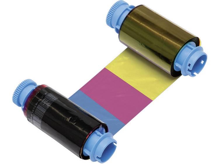 Metapace Thermo-transferrol voor etikettenprinter Origineel Zwart, Cyaan, Magenta, Geel 1 rollen YMCKO C-1 fbmpc1-1