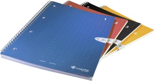 Livescribe Ringbuch-Notizblock DIN A4 4er-Pack liniert (Nr. 1-4) Digitaliseringspen (accessoire)
