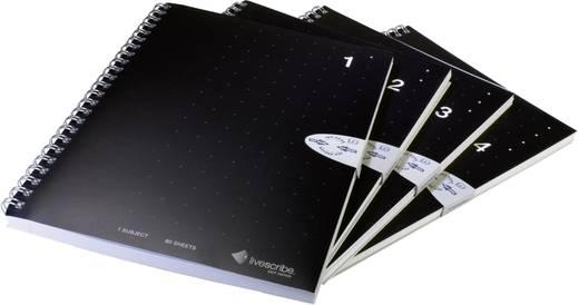 Livescribe Ringbuch-Notizblock DIN A5 4er-Pack liniert (Nr. 1-4) Digitaliseringspen (accessoire)
