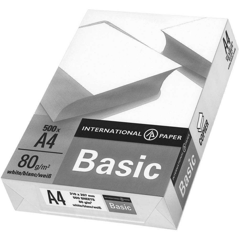 Printerpapier IP Basic DIN A4 500 vel 80 g-m²