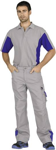 Kübler Active Wear 267019 Poloshirt Image Vision tweekleurig Maat: M Lichtgrijs, Korenblauw