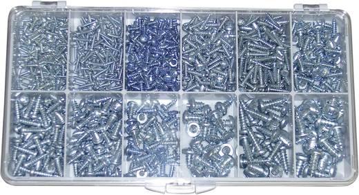 TOOLCRAFT DIN 7981 - STZN Verzonken plaatschroeven 730 onderdelen
